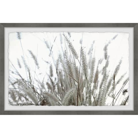 'Wild Shrubs' Framed Painting Print