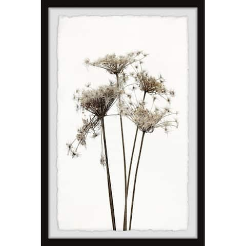 Copper Grove Dandelions and Lullabies Framed Painting Print