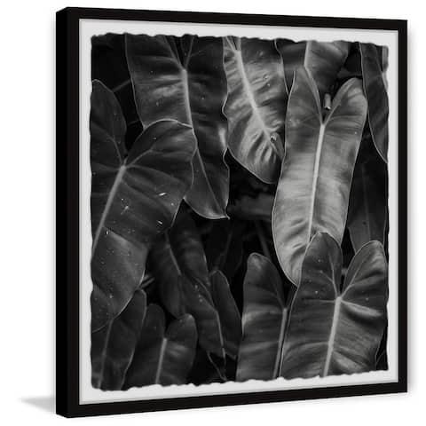Strick & Bolton Lush Jungle Leaves Framed Print