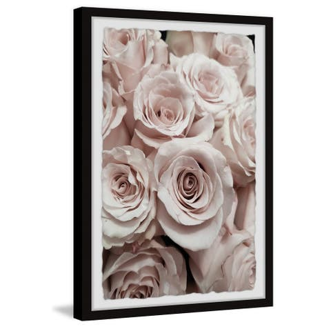 Gracewood Hollow Sea of Roses Framed Painting Print