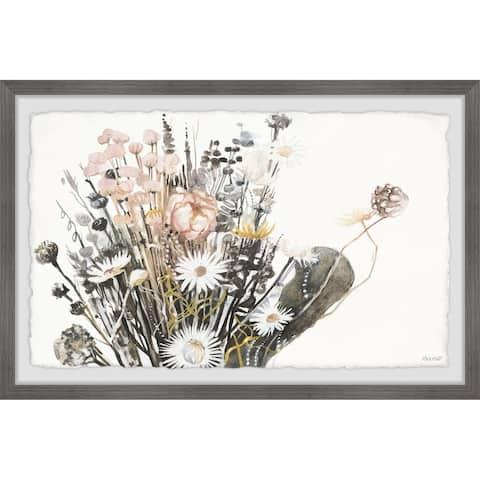 'Flowering Plants' Framed Painting Print