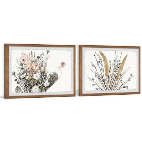 Flowering Plants Diptych