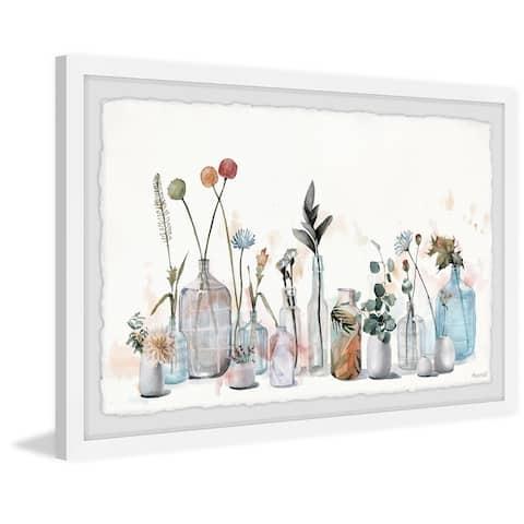 The Gray Barn Handmade Sunshine in a Bottle Framed Painting Print