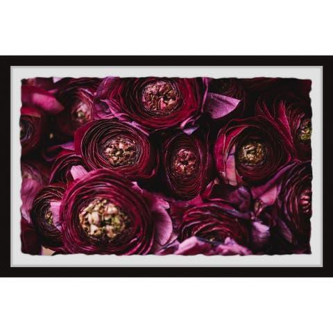 Gracewood Hollow Perfect Petals Framed Painting Print