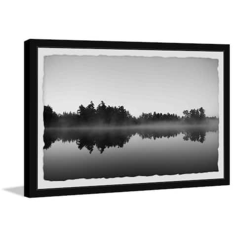 Strick & Bolton Early Morning Mist Framed Print