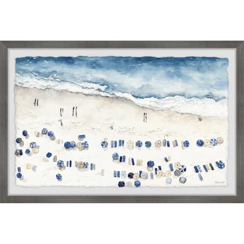 'Beach Paradise' Framed Painting Print