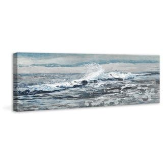 Rogue Wave' Painting Print on Wrapped Canvas