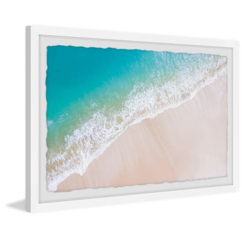 Carson Carrington Powdery White Sands' Framed Painting Print