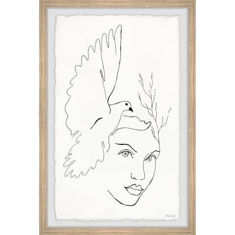 'Free Bird' Framed Painting Print