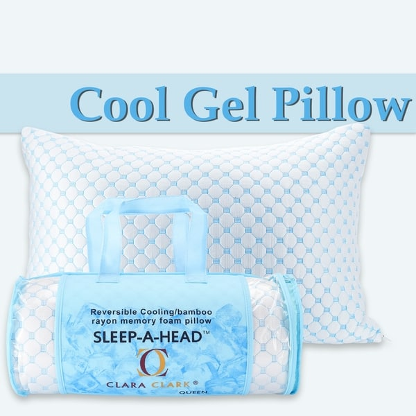 Anti-Bacterial Premium Support Pillow New Luxury Bamboo Memory Foam Pillow