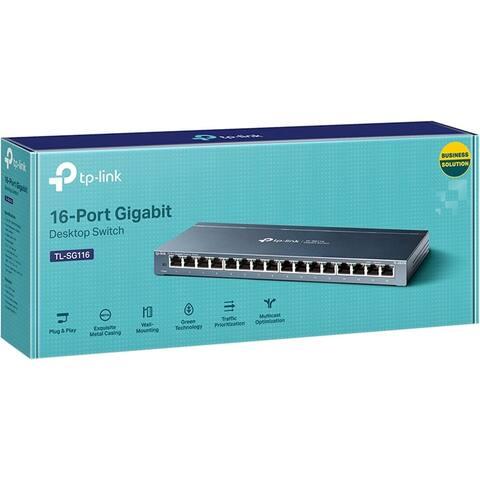 TP-Link 16-Port Gigabit Desktop Switch