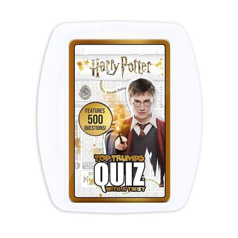 Top Trumps Harry Potter Quiz Game