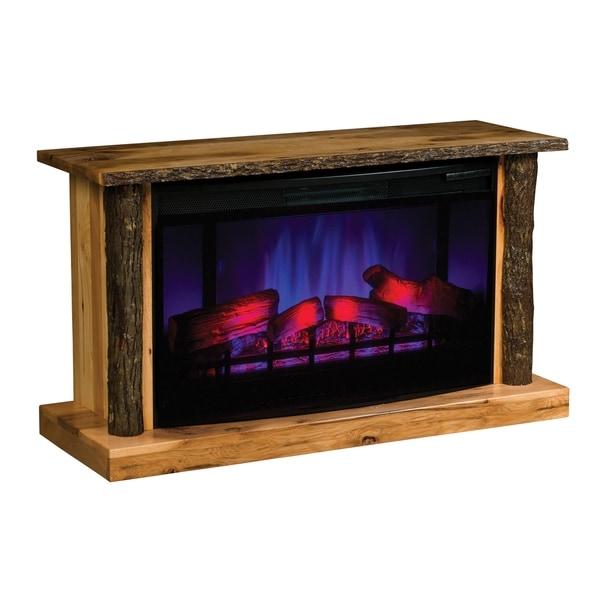 "Columbus 43.5"" LED Fireplace with Log Trim"