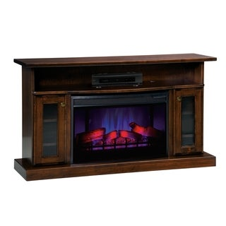 """Taylorsville 49.5"""" LED Fireplace with Shelf and Cabinets"""