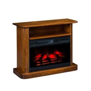"Grayson 36"" LED Fireplace with Shelf"