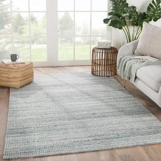 Yates Handmade Solid Gray Area Rug