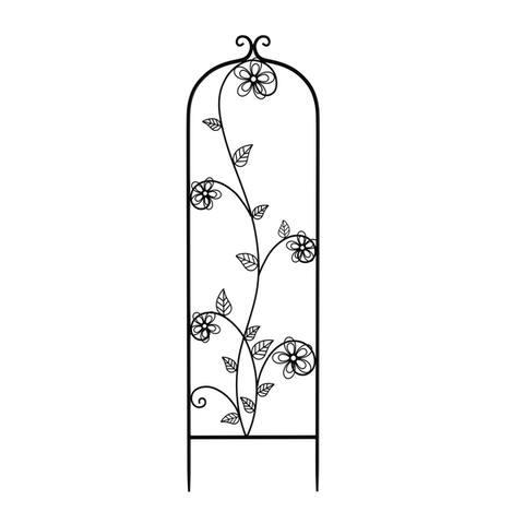 49-Inch Metal Garden Trellis