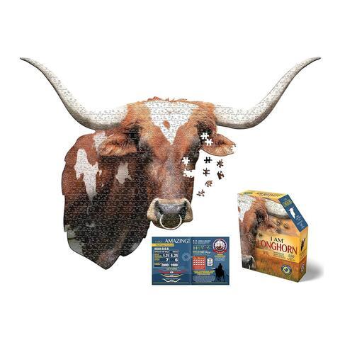 Madd Capp Puzzle - I AM Longhorn 550 Piece Puzzle