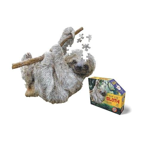 Madd Capp Puzzle Jr. - I AM Lil SLOTH 100 Piece Puzzle
