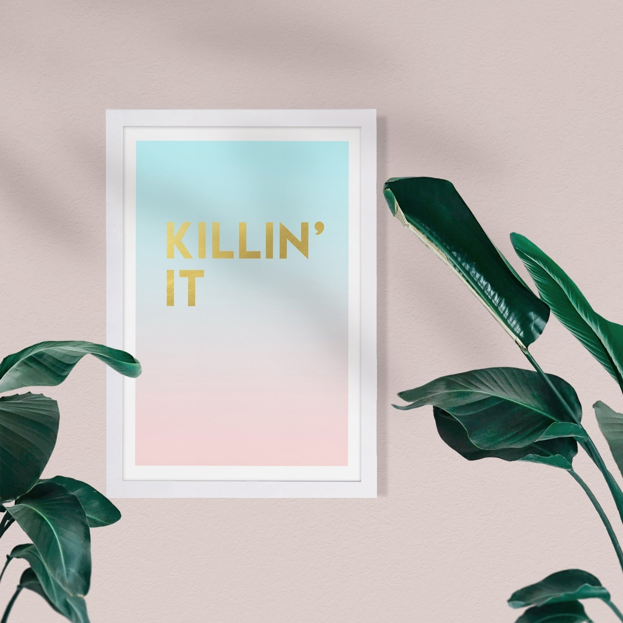 Inspirational Art Print Home Decor Wall Art Poster D