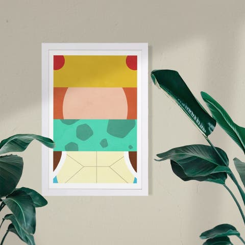 Wynwood Studio Framed Wall Art Prints 'The Starters'