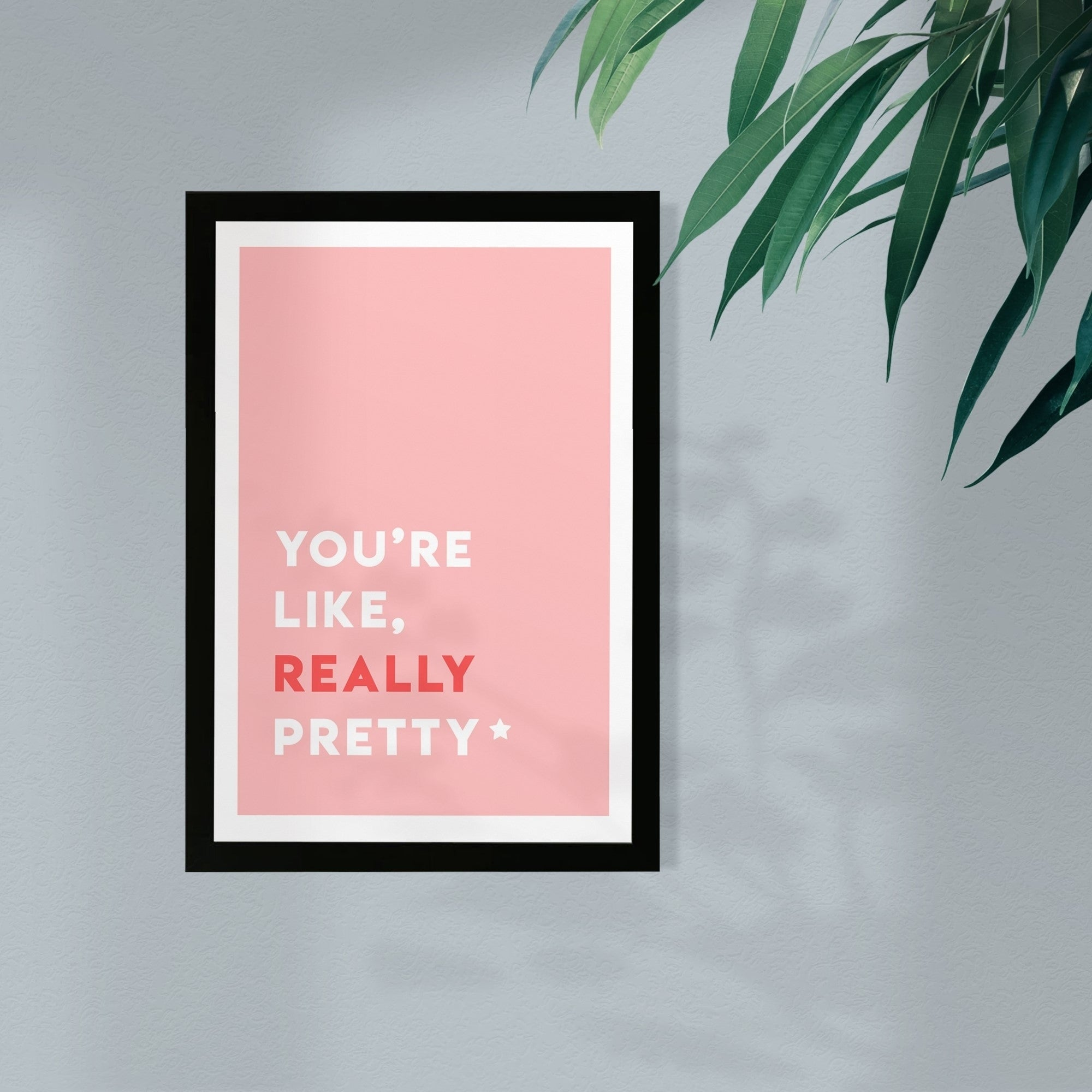 Shop Wynwood Studio Typography And Quotes Framed Wall Art Prints Really Pretty Beauty Quotes And Sayings Home Decor Pink White Overstock 30249093