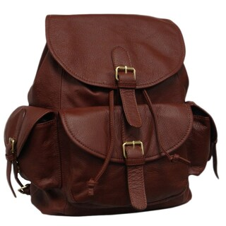 Amerileather Urban Buckle-Flap Backpack (2 options available)