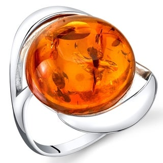 Link to Amber Swirl Design Ring in Sterling Silver Similar Items in Rings