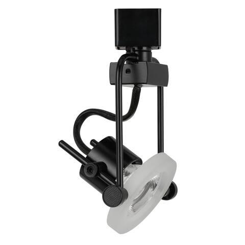 10 Watt LED Track Fixture - Black