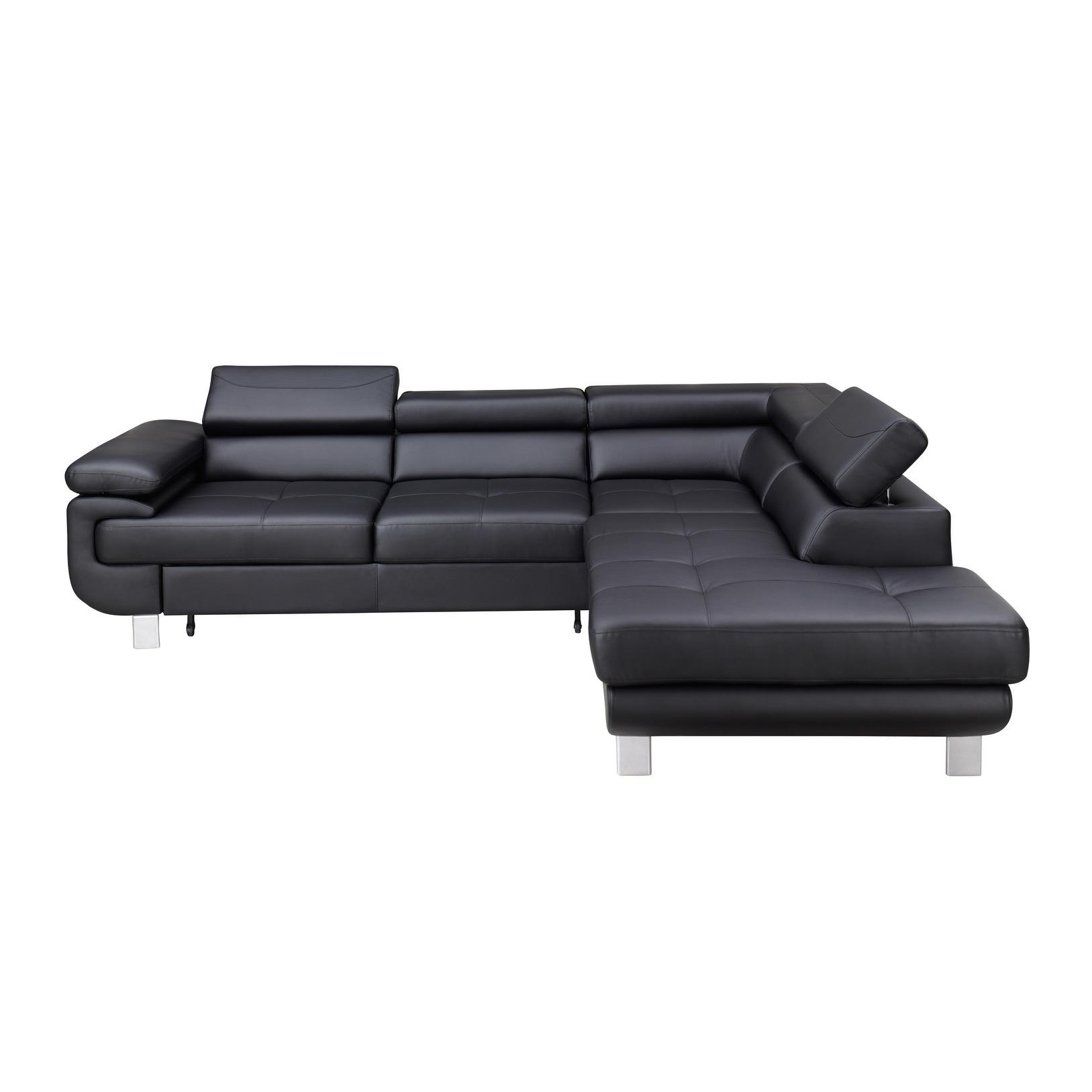 Lotos Sectional Sleeper Sofa Right Corner