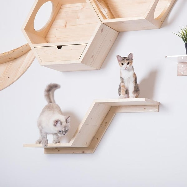 Shop Zone, Wall Mounted Cat Shelves
