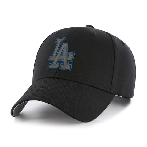 MLB Los Angeles Dodgers Black Basic Cap