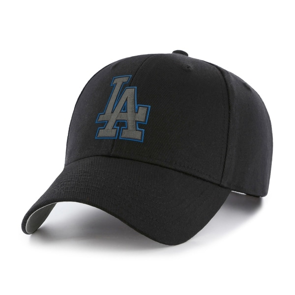 MLB Los Angeles Dodgers Black Basic Cap. Opens flyout.