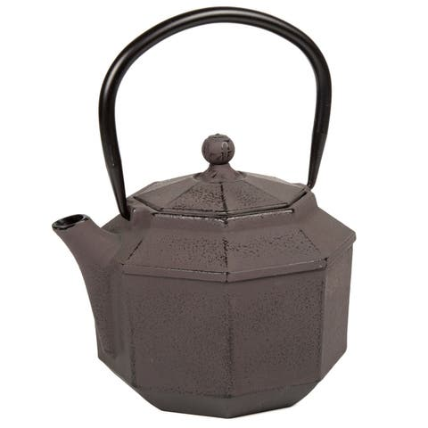 Creative Home Kyusu Brown Cast Iron 34 oz. Tea Pot