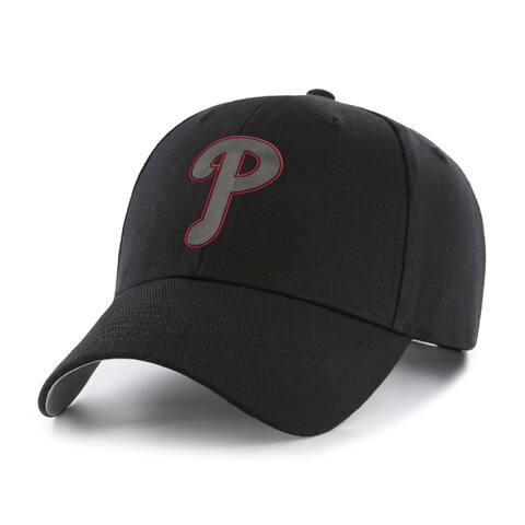 MLB Philadelphia Phillies Black Basic Cap
