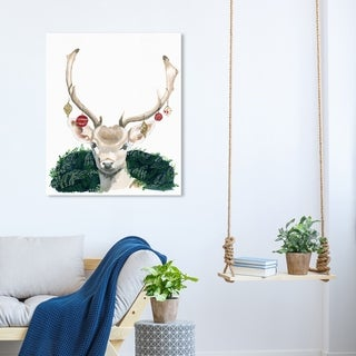 Link to Wynwood Studio Holiday and Seasonal Wall Art Canvas Prints 'I Brought The Season' Christmas Home Décor - Red, Green Similar Items in Christmas Decorations