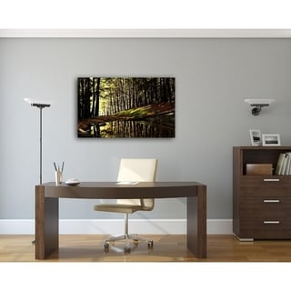 Into The Forest Nature Photography Canvas Art