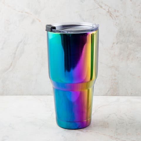 Cambridge Silversmiths 30 Ounce Shiny Rainbow Tumbler - 30 ounce