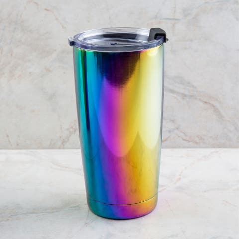 Cambridge Silversmiths 20 Ounce Shiny Rainbow Tumbler - 20 ounces