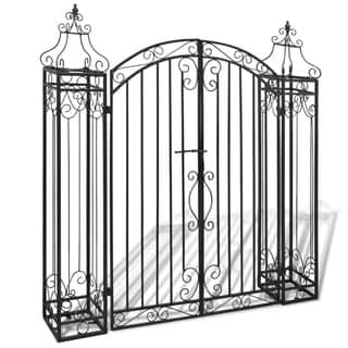 Ornamental Garden Gate Wrought Iron