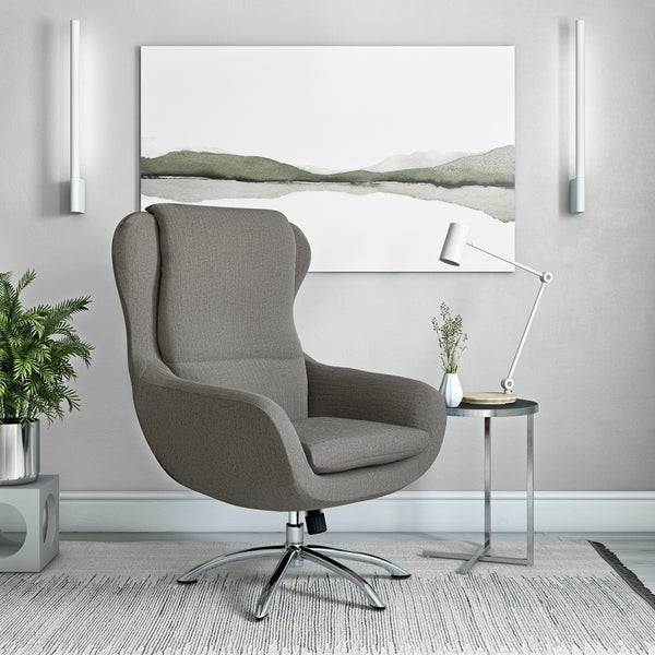 Carson Carrington Arabella Modern Swivel Rocking Chair. Opens flyout.