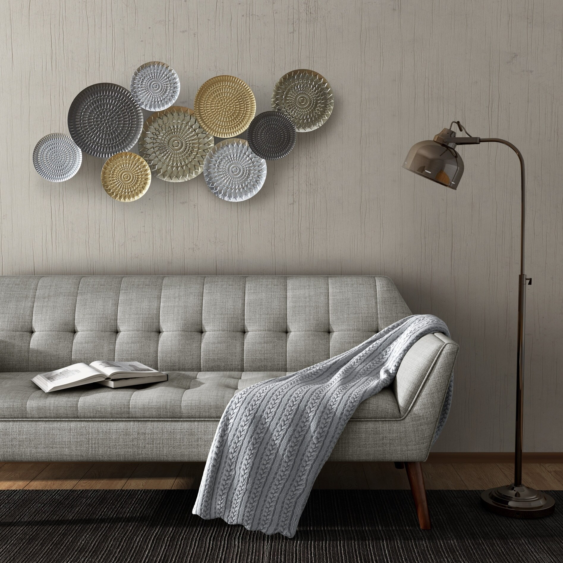 Motley Metal Plates Wall Decor