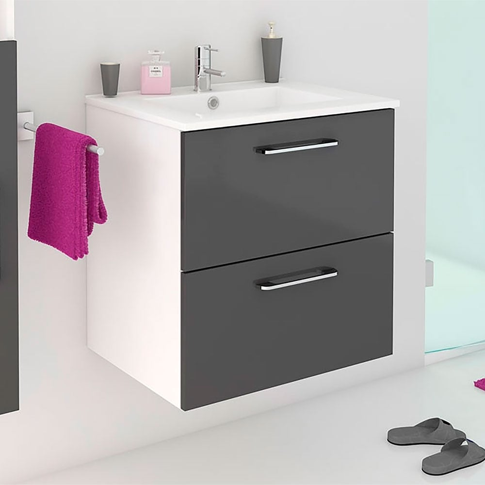 Hy Modern Bathroom Vanity Grey