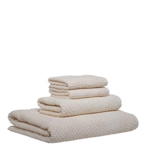 Chortex Honeycomb 4 Piece Towel Set