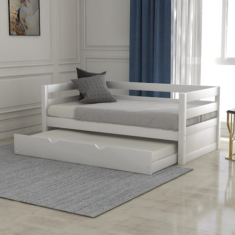 Taylor & Olive Vervain Twin-size Wood Daybed with Trundle