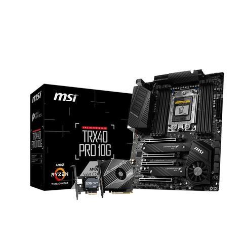 MSI TRX40 PRO 10G Desktop Motherboard - AMD Chipset - Socket sTRX4