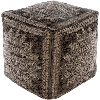 Alois Traditional 18-inch Cube Pouf