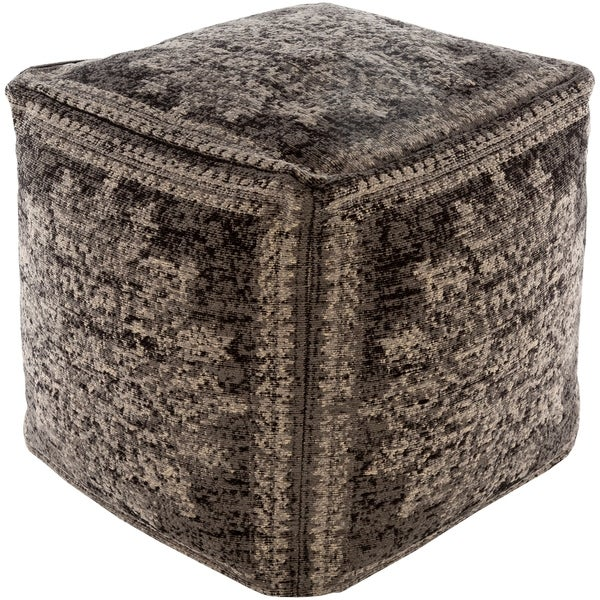 Alois Traditional 18-inch Cube Pouf. Opens flyout.
