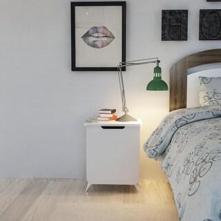Decorotika Esla Modern Nightstand Side End Table for Bedrooms