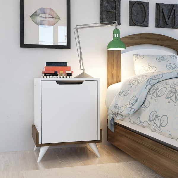 Decorotika Monzana Modern Nightstand Side End Table for Bedrooms